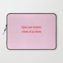 no pain no gain Laptop Sleeve