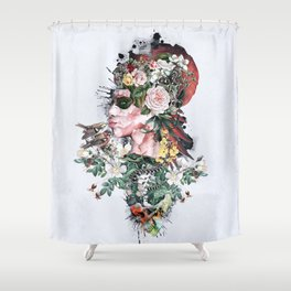 Queen of Nature Shower Curtain
