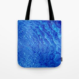 Blue picture Tote Bag