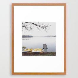 10 & 12 Framed Art Print