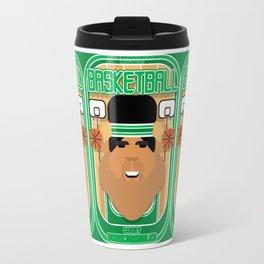 Basketball Green - Court Dunkdribbler - Seba version Travel Mug