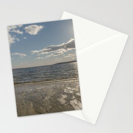 Cold Beach Day Stationery Cards