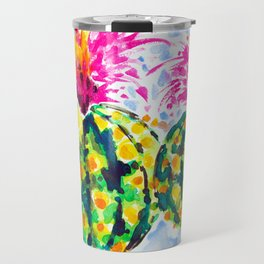 Crazy Hair Day Cactus Travel Mug