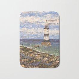Penmon Lighthouse Wales Bath Mat
