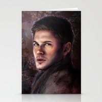 winchester Stationery Cards featuring Dean Winchester by Jackie Sullivan