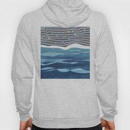 Sea Stars on The Black Sand / Coast Hoody