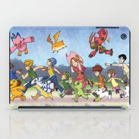 digimon iPad Cases featuring Hey Digimon! by Crystal Kan