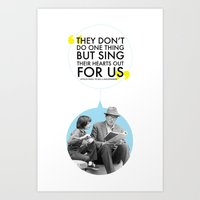 to kill a mockingbird Art Prints featuring To Kill a Mockingbird by The Sea or You