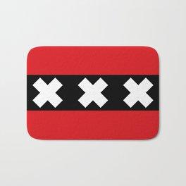 Flag of Amsterdam Bath Mat