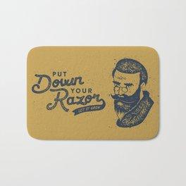 Put Down Your Razor. Let It Grow Bath Mat
