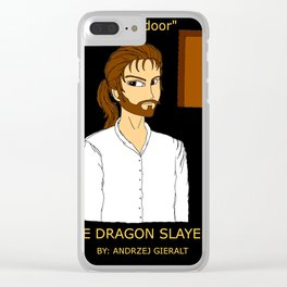 Telan Valdynir: Behold, the door. Clear iPhone Case