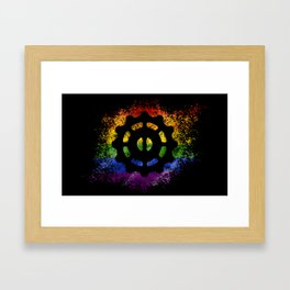 Helm of Awe - Pride Framed Art Print