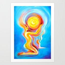 Divine Reflection Art Print