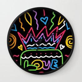Birthday Love Wall Clock
