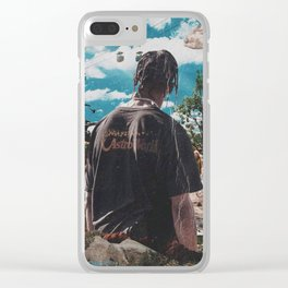 Astroworld Travis Scot Clear iPhone Case