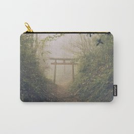 Shrine in Okunoin cemetery of Koyasan, Japan 002 Carry-All Pouch