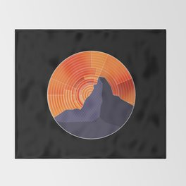 Matterhorn Throw Blanket