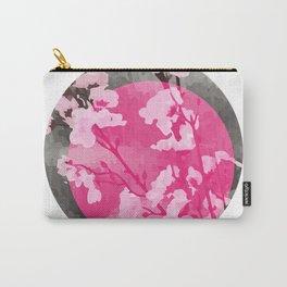 Vietnam Peach Blossom Hoa Dao Tet Holiday Carry-All Pouch
