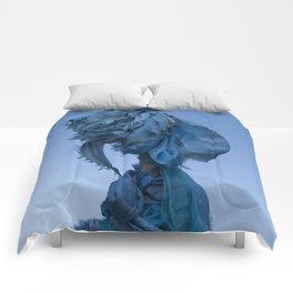 Sacred Blue Comforters