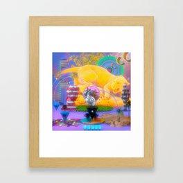Durante el día Framed Art Print