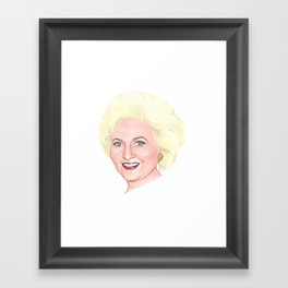 Rose Nyland (Betty White) Framed Art Print
