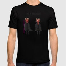 Mr & Mrs Sith Black SMALL Mens Fitted Tee