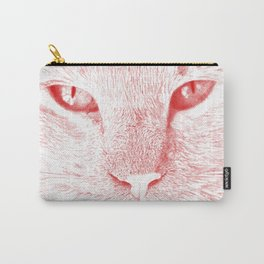 sandy, close up, drawing red Carry-All Pouch