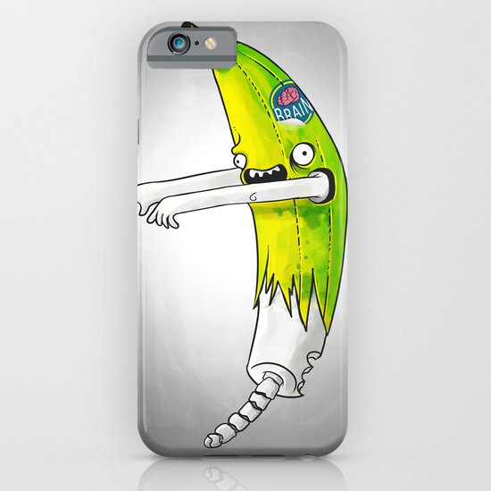 Banana Zombie iPhone & iPod Case