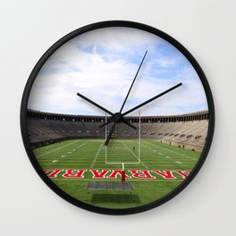 Harvard Stadium Wall Clock