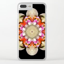 Orchidstration Clear iPhone Case