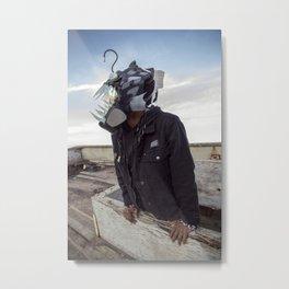 Doernbecher 5 Angler Fish Sneakerhead Gas Mask Metal Print
