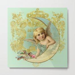 Luna Angel Metal Print