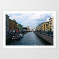 russia Art Prints featuring RUSSIA by Azniv's Photos