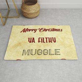Merry Christmas ya filthy muggle Rug