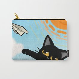 Paper airplane Carry-All Pouch