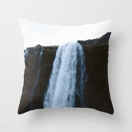 Seljalandsfoss, Iceland Throw Pillow