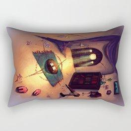 The Magician's Room Rectangular Pillow