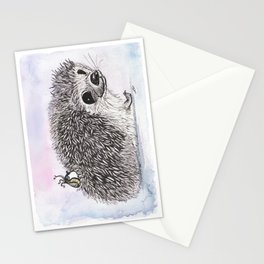 Hedgie Stationery Cards