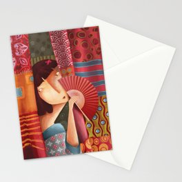 Mme Tissus Stationery Cards