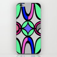 mosaic iPhone & iPod Skins featuring Mosaic by Elena Indolfi