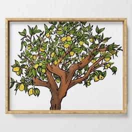 Lemon Tree Serving Tray