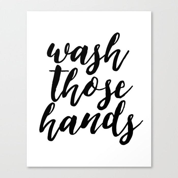 Bathroom Wall Art Wash Those Hands