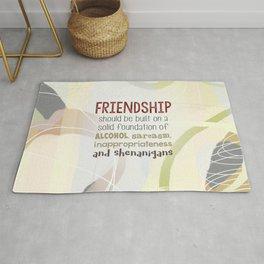 Friendship-Shenanigans Rug