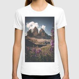 Tre Cime di Lavaredo during summer T-shirt