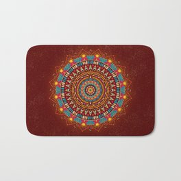 Crystalline Harmonics - Tribal Bath Mat