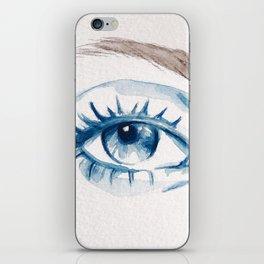 Blue eye iPhone Skin