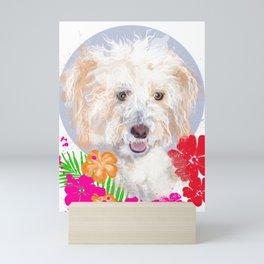 Hawaiian Dog Mini Art Print