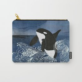 Killer Whale Orca Carry-All Pouch