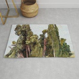 Samuel Palmer Cypresses in Tivoli Rug