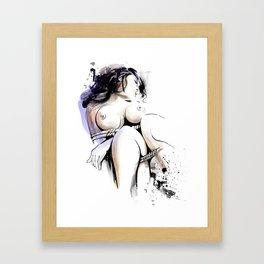 Shibari - Japanese BDSM Art Painting #13 Framed Art Print